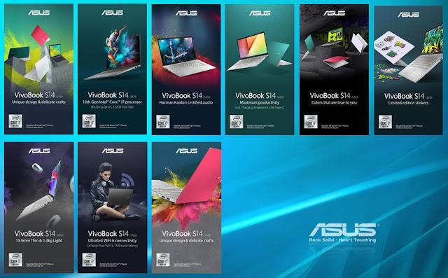 """ASUS VivoBook S14 S433;Membangun Aset Digital ala """"Aku""""dengan Asus VivoBook S14"""