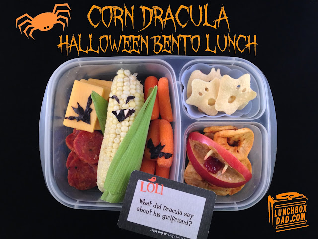 Kids halloween lunch