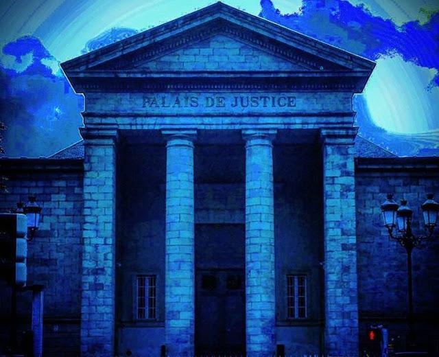 building of palais de justice quimper