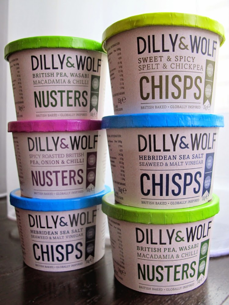 Dilly & Wolf healthy crisps