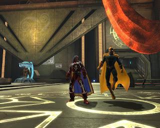Doctor Moongem meets Phantom Stranger