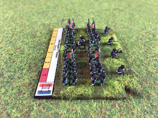 Baccus 6mm figures of French infantry