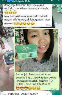 Jual Paket jerawat moreskin anti acne + sabun erhsali acne 085231271500