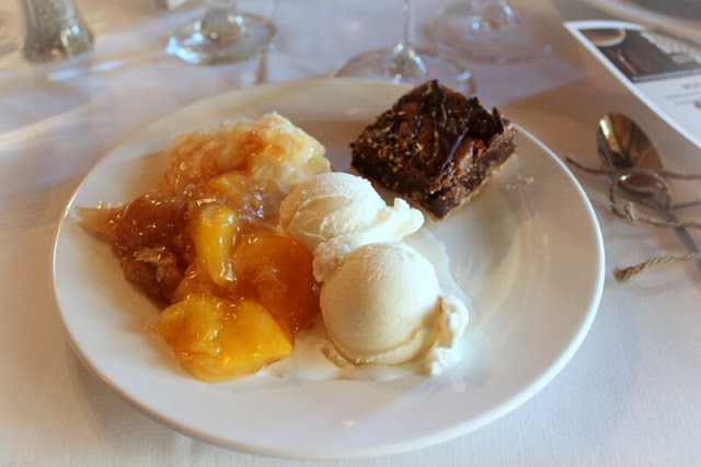 The dessert was much better this year at the Wine & Wagyu Weekend event.