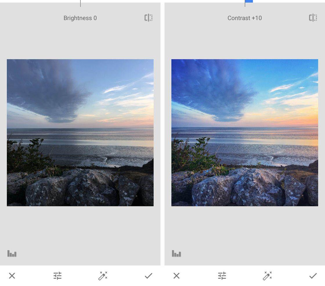 Aplikasi foto Snapseed