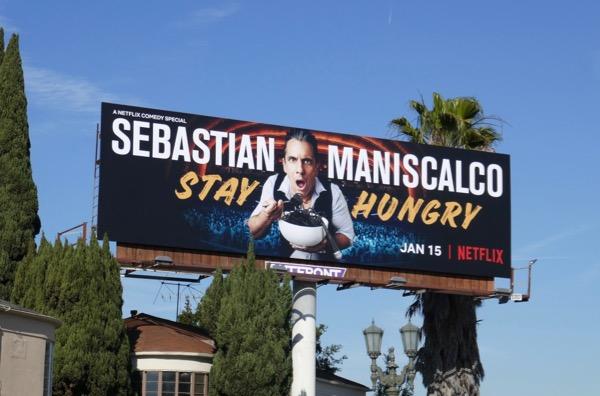 Sebastian Maniscalco Stay Hungry billboard