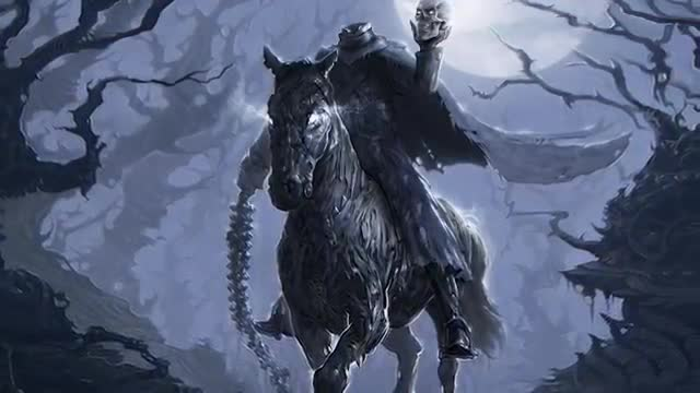 The Dullahan, scary urban legend, most scary urban legend, scary Irish urban legend