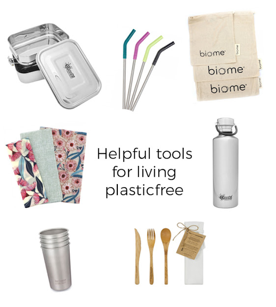 Helpful Plastic Free Living Essential Tools