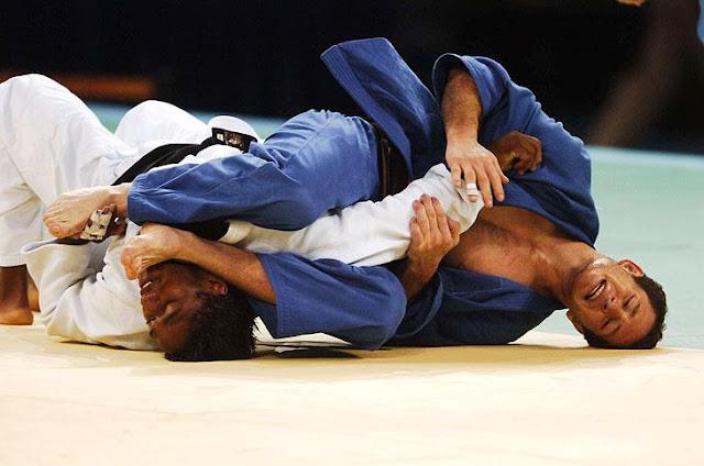 Tiago Camilo na disputa do bronze em Pequim. Foto: Ricardo Duarte