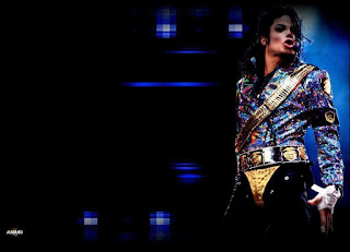 Singers Michael Jackson and Prince music