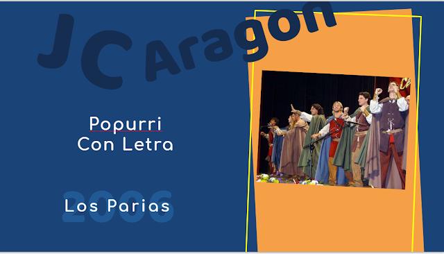 """👁️🗨️Popurri con LETRA de Juan Carlos Aragón⚫ """"Los Parias""""😷 (2006)"""