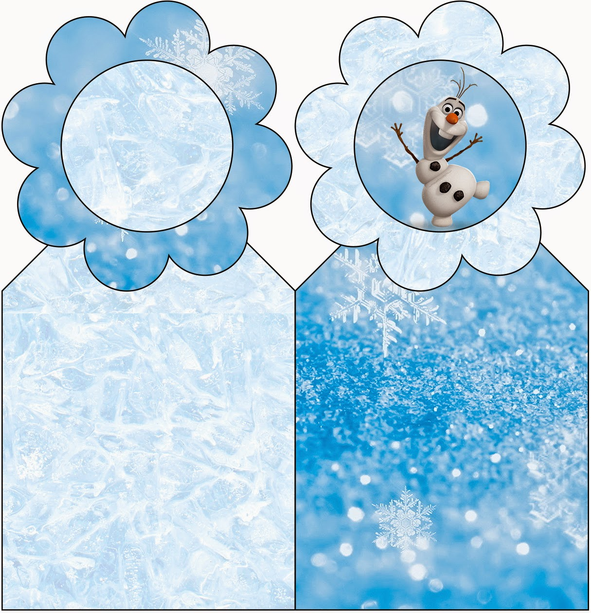 Olaf Free Printable Book Marks.
