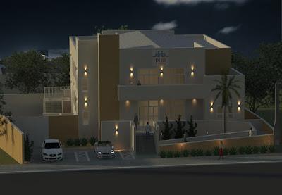 A maquete eletrônica do projeto foi renderizada no escritório da arquiteta Lidia Arantes.