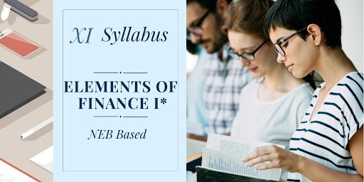 ELEMENTS OF FINANCE I Syllabus