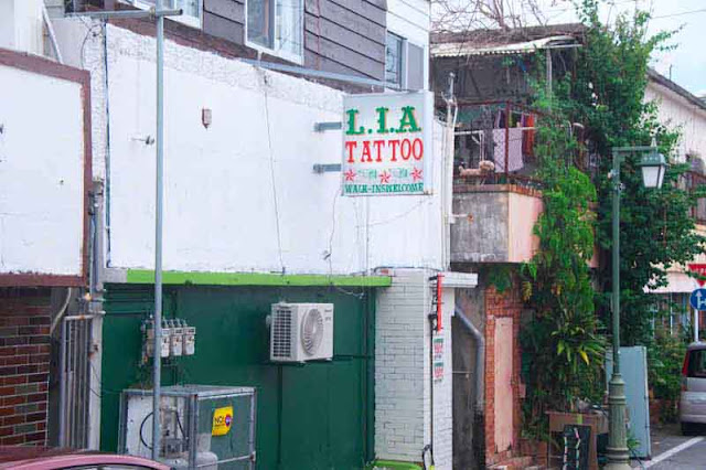 Okinawa, tattoos, shops