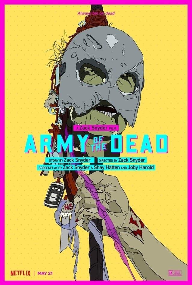 Netflix показал полный трейлер зомби-хоррора «Армия мертвецов» Зака Снайдера - Постер