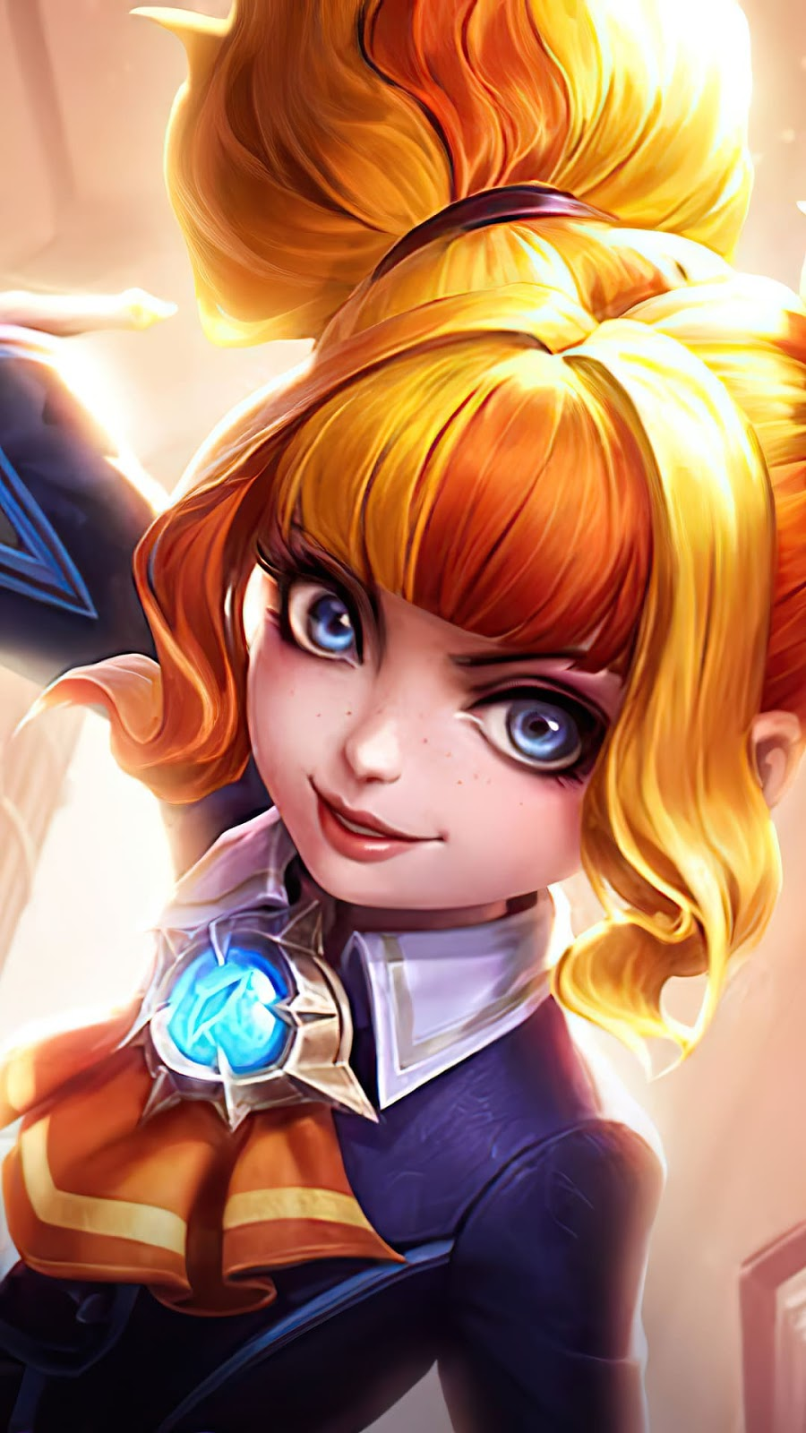 Wallpaper Lylia Star Student Skin Mobile Legends HD for Mobile