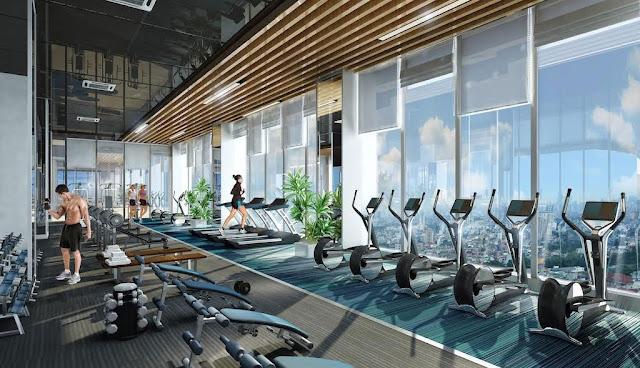 Phòng Gym cao cấp tại dự án The Terra An Hưng