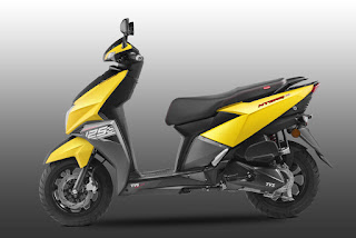 top 10 scooty in India, tvs Ntorque