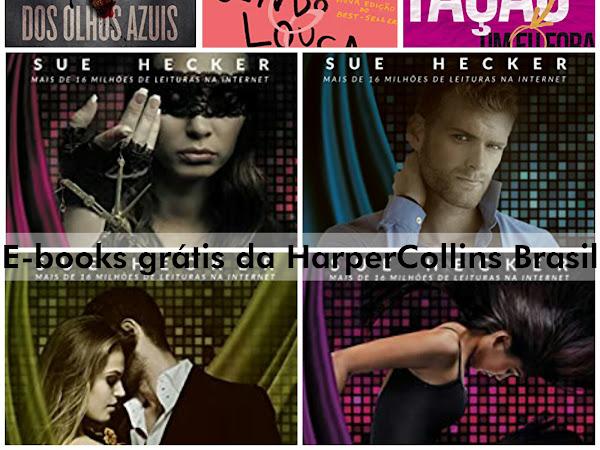 [Atualizada] E-books gratuitos da HarperCollins Brasil (incluindo Harlequin Books)