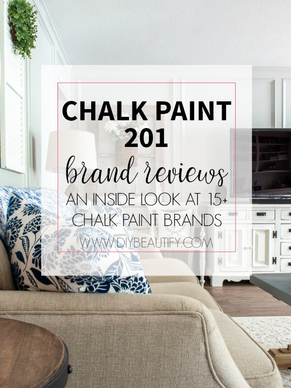 Chalk paint 201 - brand reviews for the informed consumer