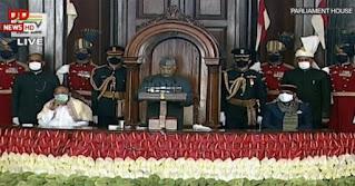 बजट सत्र : न हम रुकेंगे और न भारत रुकेगा, पढ़िए राष्ट्रपति के अभिभाषण की बड़ी बातें | #NayaSaberaNetwork