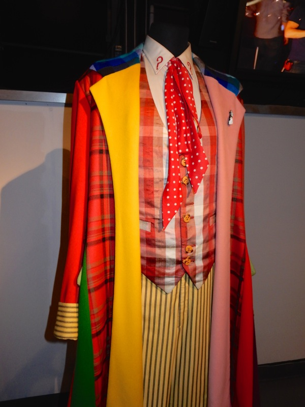 Colin Baker Sixth Doctor Who signature costume