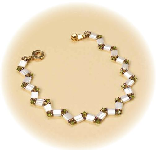 Zig Zag Jewellery: Great Designs For Shaped Beads