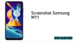Cara screenshot Samsung M11