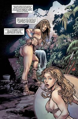 Jungle Fantasy - Ivory femme préhistorique