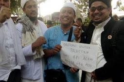 FPI Aceh Salurkan Rp 179 Juta Untuk Rakyat Palestina