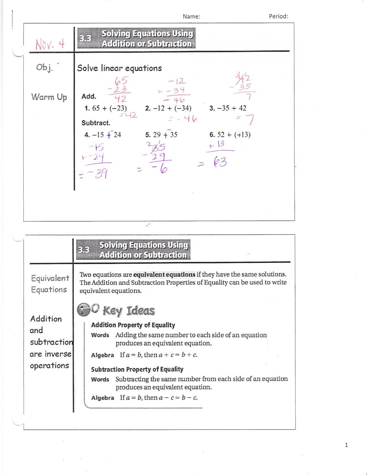 Ms Jean S Classroom Blog Math 7 3 3 Solving Equations