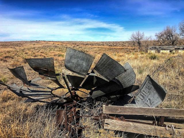 Fallen Windmill