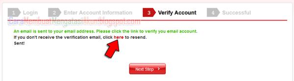 verifikasi akun garena