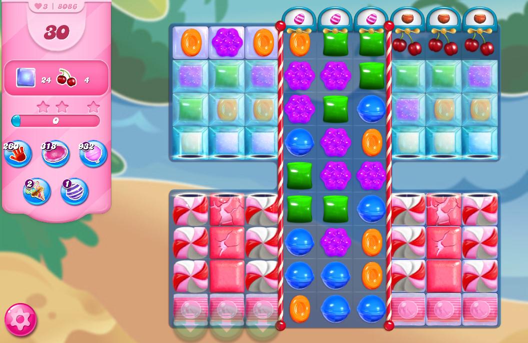 Candy Crush Saga level 8086
