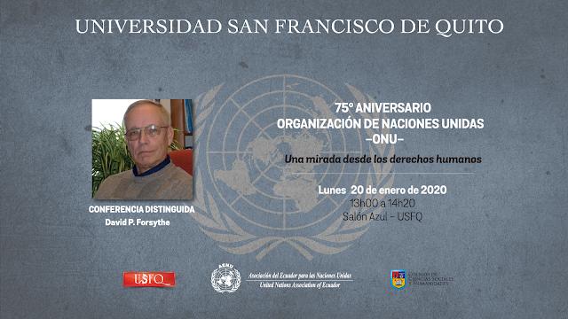 Conferencia: Una mirada sobre los Derechos Humanos