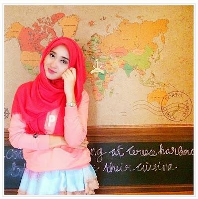 Gaya Hijab Ala Dian Pelangi Untuk Lebaran Terbaru