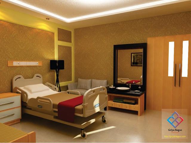 Desain Interior Ruang Rawat Inap Pasien VVIP Rumah Sakit Panti Rapih Yogyakarta Gambar 5