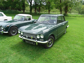 Triumph Vitesse Mk2 saloon at Club Triumph National 2015