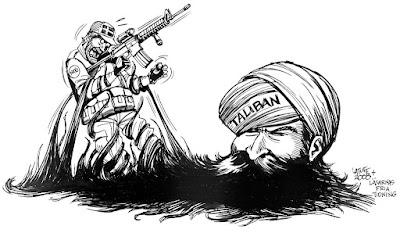 taliban dan militer afganistan