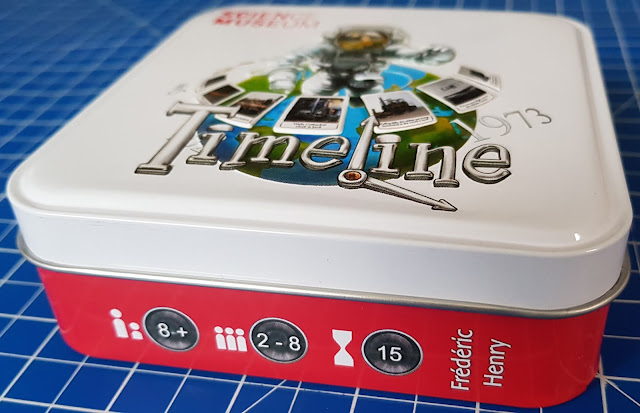 Timeline Science Museum edition game review closed storage tin