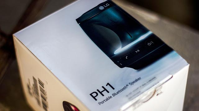 Desain Mengerucut Speaker Portable LG PH1 Telah Di Rilis