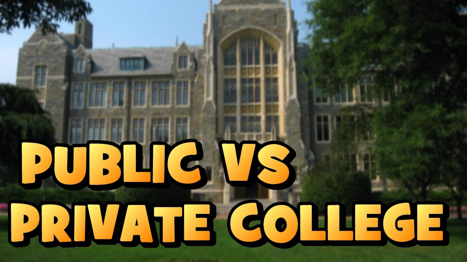 Common Difference between Public And Private Colleges In 2019