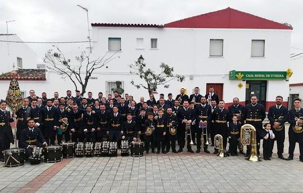 La banda «Pasión y Esperanza» de Utrera anuncia el cese de su actividad «hasta después de la Semana Santa de 2020»