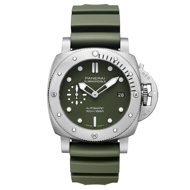 Panerai Submersible Verde Militare 42mm PAM1055