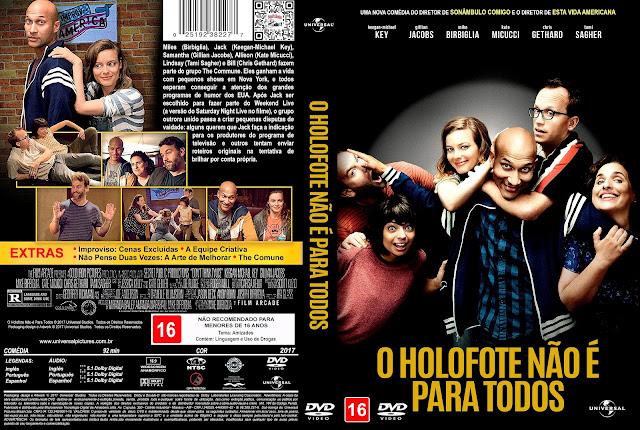 Capa DVD O Holofote Não é Para Todos [Custom]