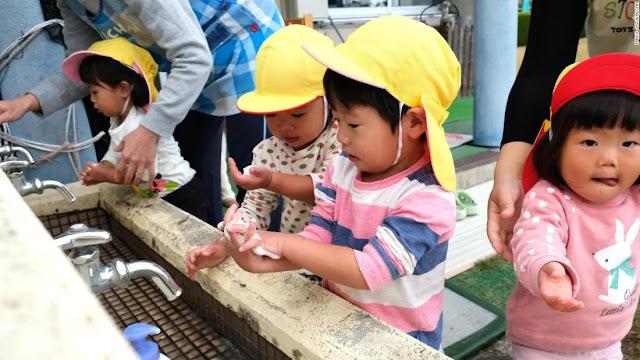 Japanese Children. Photo: CNN