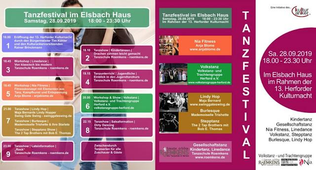 Tanzfestival Herford / Kulturnacht Herford