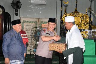Kapolda Jambi Kunker Ke Kabupaten Tanjab Barat