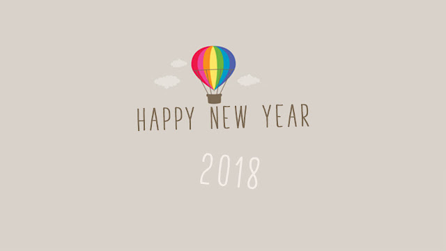 New Year Animation GIF Images 2018